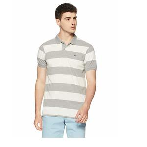 Ruggers by Unlimited Men's Striped Regular Fit T-Shirt