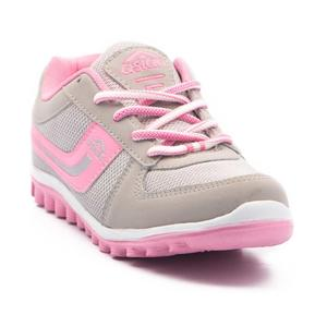 Running Shoes For Women  (Grey, Pink)