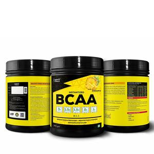 Healthvit Fitness BCAA 6000 Pre/Post Workout Supplement - 200 g (Pineapple)