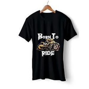 Born To Ride - Black Tee