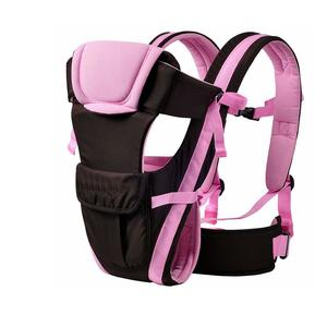 Cutieco Premium Quality Sling Backpack Baby Carry Bag, Pink