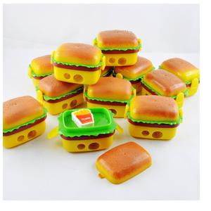 Party Propz Burger Style Sharpener & Eraser for Birthday Party Return Gift Pack of 12