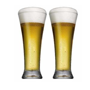 Pashabache Pub Beer Glass Set, 320ml, Set of 2, Clear
