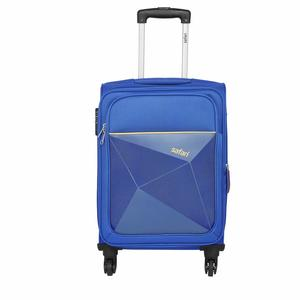 Safari Polyester 65 cms Blue Softsided Check-in Luggage (PRISMA654WBLU)