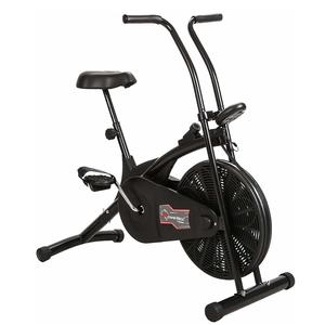 Powermax Fitness BU-203 Air Bike with Fixed Handles - Exercise Cycle for Weight Loss, Cardio Workout at home - Compact Design and Comfortable Seat