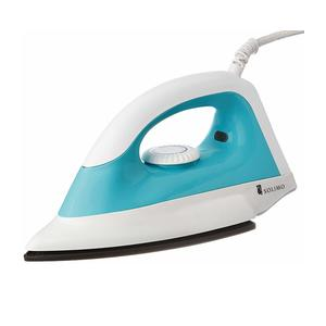 Amazon Brand - Solimo 1000-Watt Dry Iron (White and Turquoise)