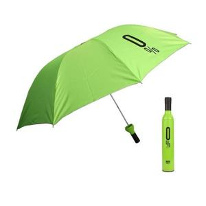 WDS  Automatic Foldable Travel Wine Bottle Umbrella (UV PROOF WINDPROOF) (Green) Umbrella  (Green)