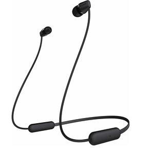 Sony WI-C200 Wireless Neck-Band Headphones with up to 15 Hours of Battery Life - Black