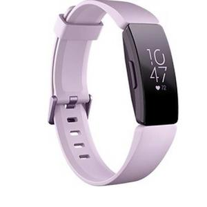 Fitbit Inspire HR  (Purple Strap, Size : Regular)