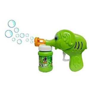 BEN 10 Elephant Bubble Gun Toy for Kids with Free Bubble Liquid (Green)