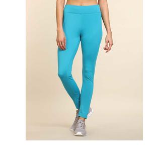Solid Women Blue Tights