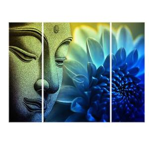 SAF SAF 6MM Buddha Religious Panel Painting Digital Reprint 12 inch x 18 inch Painting