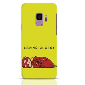 Saving Energy Samsung Galaxy S9 Mobile Cover