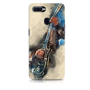 Blue Guitar Oppo F9 Pro Mobile Cover