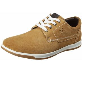 Red Chief Men's EXT136 Leather Sneakers