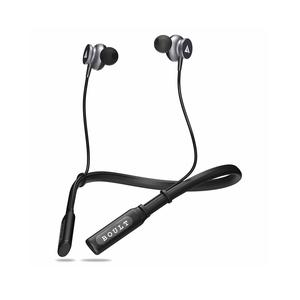 Boult Audio ProBass Curve Neckband in-Ear Wireless Earphones with Latest Bluetooth 5.0 Without Vibration,IPX5 Sweatproof Headphones with Long Battery Life & Flexible Headset with in-Built Mic (Black)