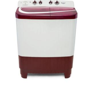 Sansui 8.5 kg Pro Wash Semi Automatic Top Load Washing Machine White, Maroon  (SISA85GMAW)