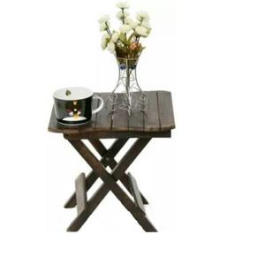 Wooden Art & Toys na Solid Wood Side Table  (Finish Color - Brown)
