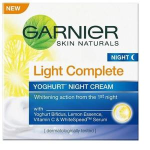 Garnier Skin Naturals Light Complete Night Cream  (40 g)