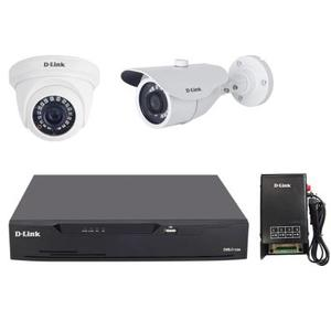 D-Link 720p HD 1 MP CCTV kit Security Camera  (4 Channel)