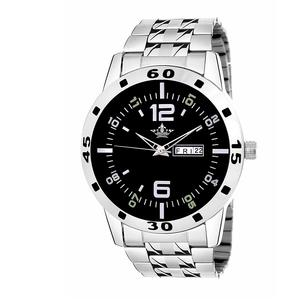 Swisso Exclusive Series Black Dial Day & Date Analogue Boys and Mens Watch