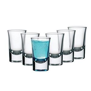 Cello Carino Shot Glass Set, 30ml, Set of 6, Clear