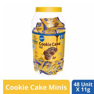 Pillsbury Cookie Cake Minis Jar, Choco, 528 g