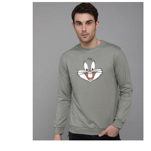 Bugs Bunny Expression Fleece Sweater (LTL)
