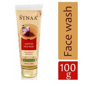 Synaa Saffron Herbal Face Wash For Fresh Glowing Radiant Skin, Beauty Cream (100ml)
