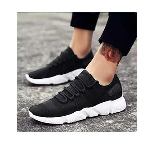 Afrojack Men Black Sneakers