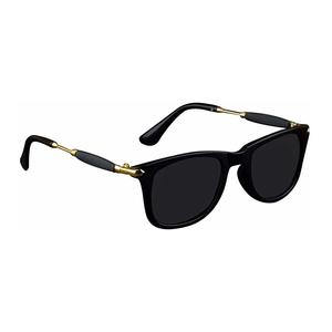 Zyaden Black Unisex Sunglasses 62