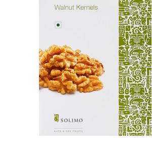 Amazon Brand - Solimo Premium Walnut Kernels, 500g