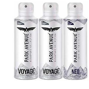 Park Avenue Super Saver Pack Buy 2 Get 1 Free(2 Voyage + 1 NEO) 348g/450ml