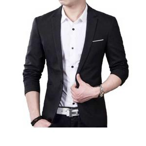 Redwood  Solid Single Breasted Party, Formal, Casual, Wedding Men Full Sleeve Blazer  (Black)