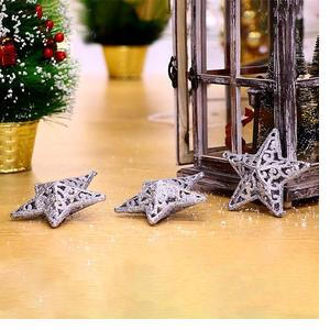 Silver Star Decorations