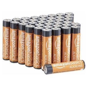 AmazonBasics AAA Performance Alkaline Non-Rechargeable Batteries (36 Count)