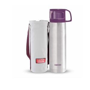 Milton Glassy Flask 1000ml Vaccum Flasks - Purple