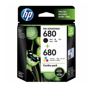 HP 680 2-Pack Black/tri-Color Ink cartridges
