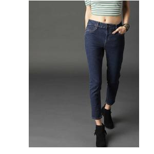 Roadster  Skinny Women Dark Blue Jeans