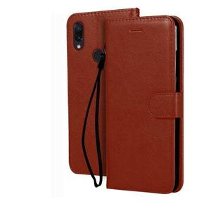 Flipkart SmartBuy Flip Cover for Mi Redmi Note 7, Mi Redmi Note 7 Pro, Mi Redmi Note 7S  (Brown, Hard Case)