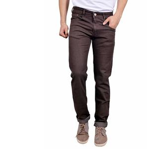 STUDIO NEXX Men's Coffee Regular fit Jeans