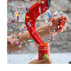 Oye Happy - Glitter Bomb - Popper Prank for Friends/Girlfriend/Boyfriend/Siblings to Gift on Birthday