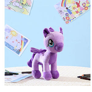 Appealing Purple Pony Soft Toy