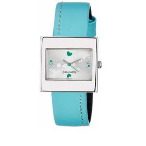 Sonata Analog Multi-Color Dial Women's Watch -NG8965SL01AC