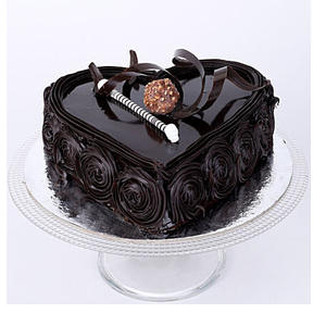 Special Floral Chocolate Cake Half kg