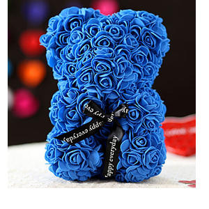 Foam Teddy Bear- Blue