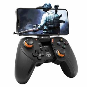 Amkette Evo Gamepad Pro 4 for iPhone and Android Smartphones with Instant Play (Works with PUBG, Call of Duty, Mobile Legends, and many more) (MediaTek Device Not Supported)