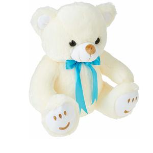 Amazon Brand - Jam & Honey Teddy Bear, 33 cm, Cream
