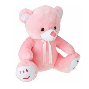 Amazon Brand - Jam & Honey Teddy Bear, 60 cm, Pink