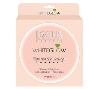 Lotus Herbals WhiteGlow Flawless Complexion Compact WG C1 Compact  (Ivory, 10 g)
